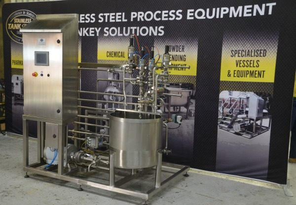 Stainless Tank & Mix Pasteurisers